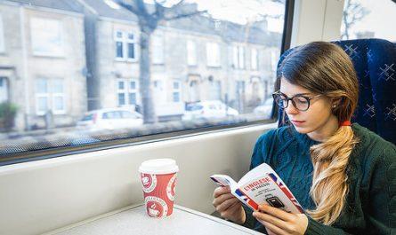 Olvass tömegközlekedés közben