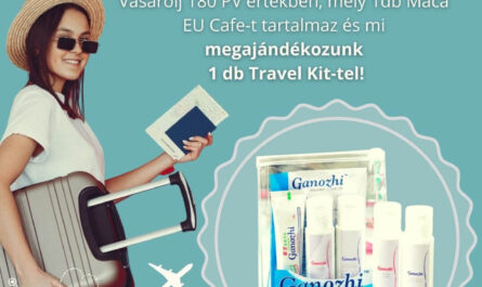 DXN Travel Kit promóció