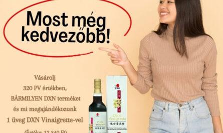 DXN Vinaigrette promóció