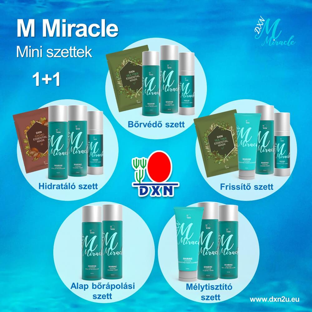 M Miracle mini szettek - promóció
